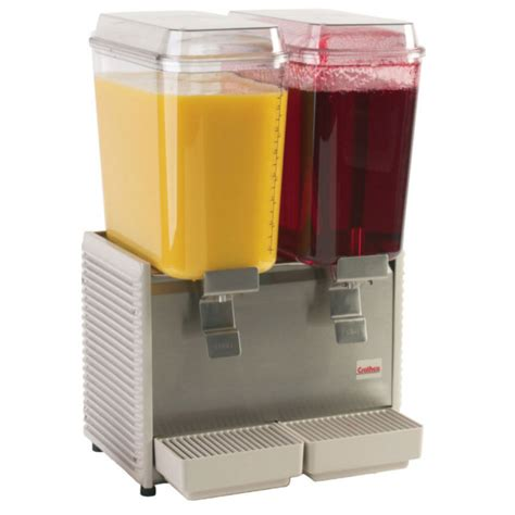 crathco d25 4 17 5 quot premix cold beverage dispenser w 2