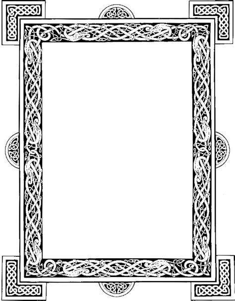 cornici celtiche celtic frame graphic by deviantnepstock celtic patterns