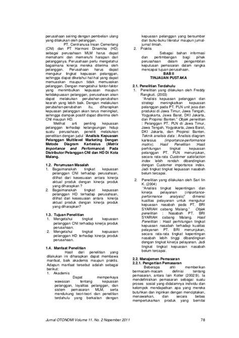 Jurnal Wacana Vol11 No2 jurnal otonomi volume 11 no 2 nopember 2011