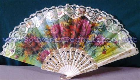 Kipas Spanyol kipas spanyol putih souvenir pernikahan