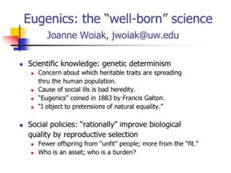 eugenics and other evils on socialism science and the creation of the master race books ppt eugenics powerpoint presentation id 2690077
