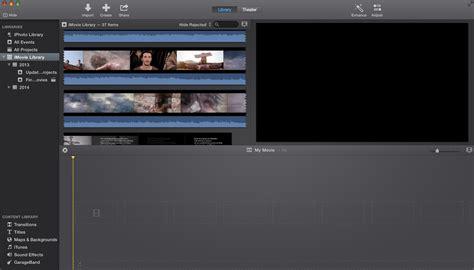 membuat video dengan imovie cara mudah menggunakan imovie fether abersond blogs