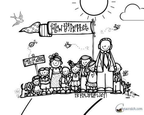 coloring page follow jesus behold your little ones lesson 24 quot i will follow the