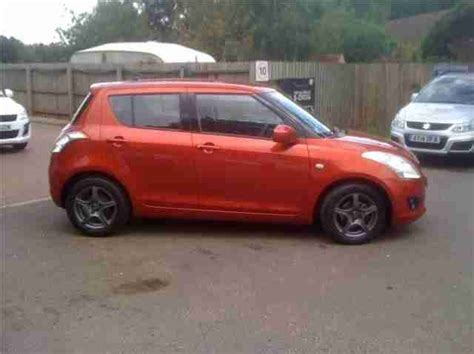 Banks Suzuki Ipswich Suzuki 2012 5dr Hat 1 2 Sz2 Petrol Orange Manual