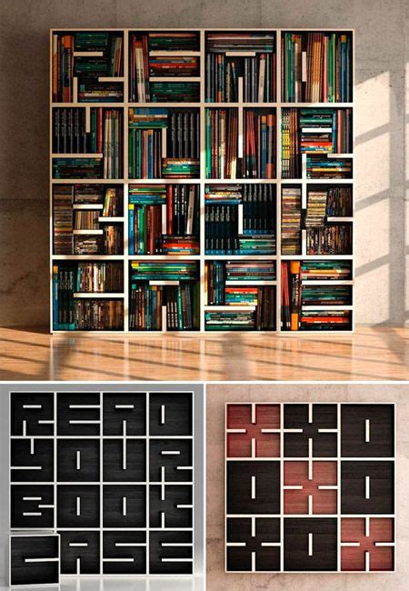 17 best ideas about unique bookshelves on
