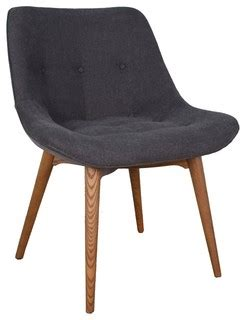mid century living abelone contour upholstered side chairs contour dining chair in grey midcentury dining chairs