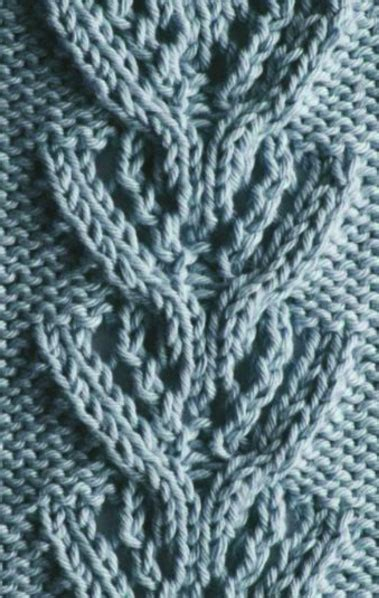 knitting k1tbl tag lace and cable knitting stitch knitting kingdom