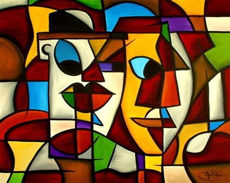 cubist paintings cubist 9 by c fedro from contemporary cubism
