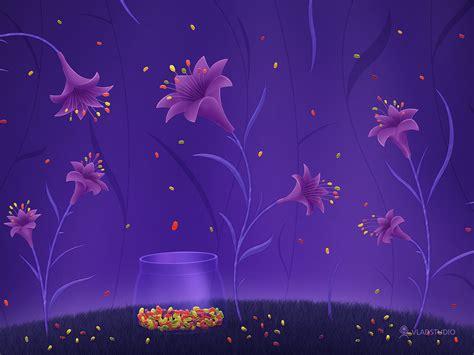Share Psu Ac Th Free Powerpoint Template Purple Liquid