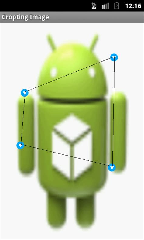 crop android java how to crop an image in between four points on android stack overflow