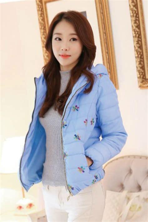 Jaket Korea 1 jaket wanita korea big size blue korean jacket