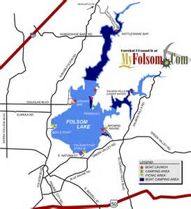 folsom california map folsom lake map world map 07