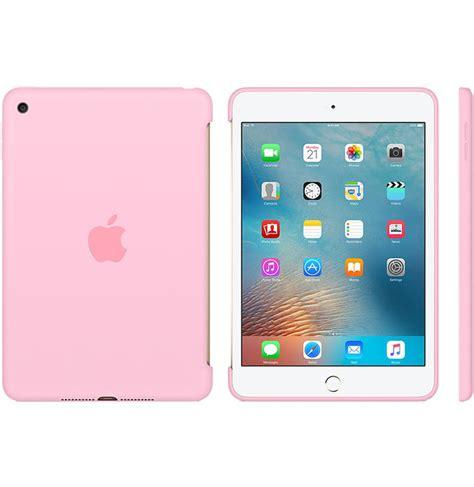 fundas para ipad apple apple funda silicone case ipad mini 4 rosa claro
