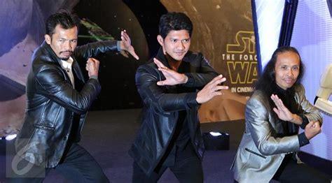 iko uwais dan film star wars usai star wars cecep arif rahman bintangi serial amerika
