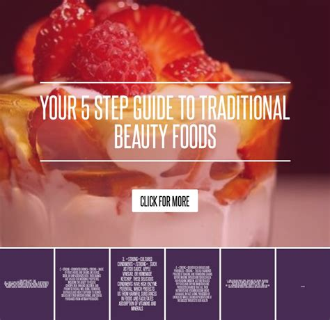 Your 5 Step Guide To Traditional Foods your 5 step guide to traditional foods