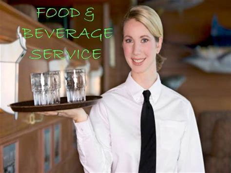 Food & Beverage Service  authorSTREAM