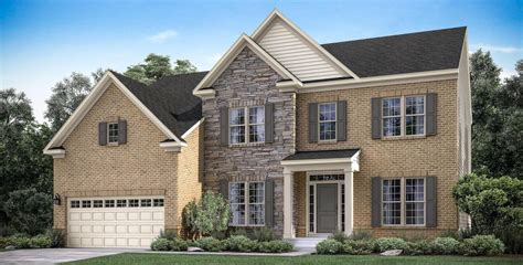 single family home in md va lugano mid atlantic builders