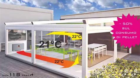 pavimento veranda stufe a pellet per verande terrazze gazebo tendoni