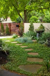 diy garden path with random shaped flagstones and ground cover plants as filler how does the