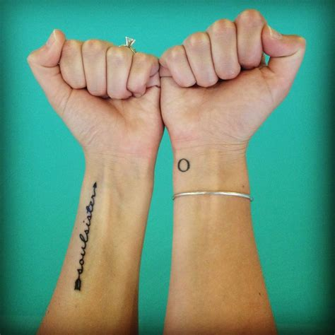 tattoo ideas for sisters soul sister tattoo tattoo ideas pinterest soul