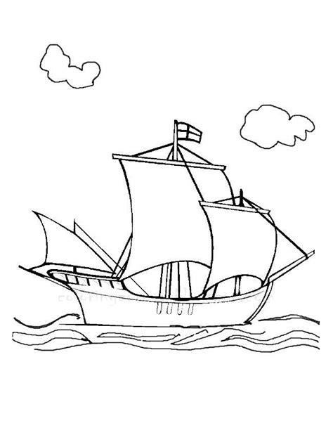 Boat Coloring Pages Boats Coloring Pages
