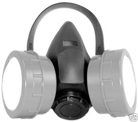 woodworking particle dust dual filter respirator mask ebay