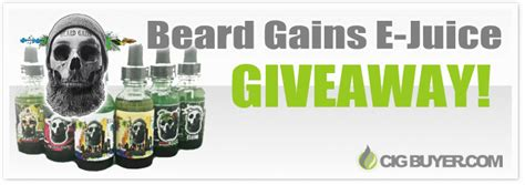 E Juice Giveaway - beard gains e juice giveaway ended cig buyer com