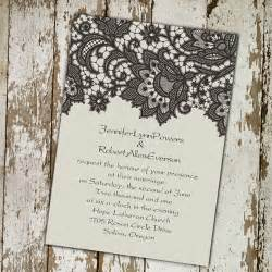 printed wedding invitations ivory vintage printed lace wedding invitations ewi260 as low as 0 94