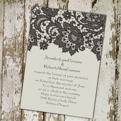 Wedding Invitation Vintage by Vintage Wedding Invitations Cheap Invites At