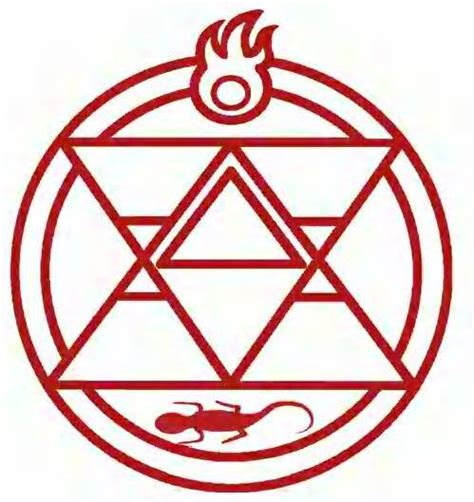 from fullmetal alchemist fire alchemy symbols