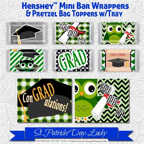Mini Candybag With Premium Tag 17 best images about sammy s graduation on grad bar wrappers and minis