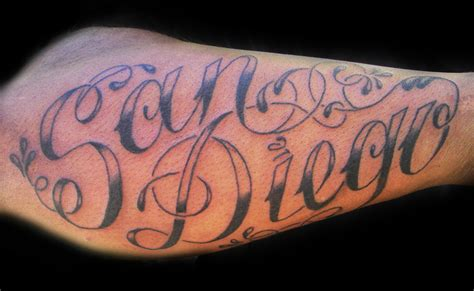 tattoos lettering vl art