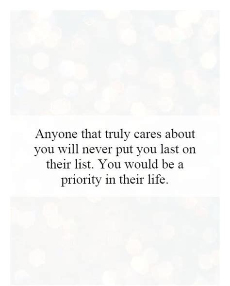 Are You In The List by Priority Quotes Priority Sayings Priority Picture Quotes