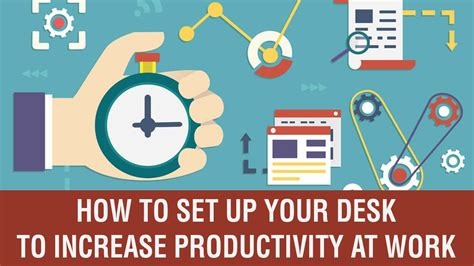 how to improve workflow increase productivity at work