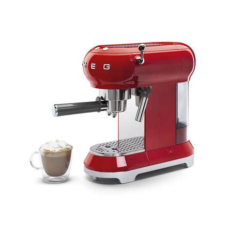 espresso kaffeemaschine ecfrdeu smeg de