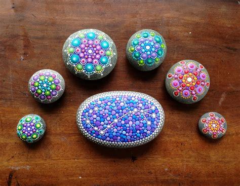 stein muster malen steine bemalen zum basteln mit naturmaterialien 50 ideen