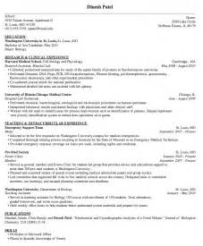 medical resume example resumes design