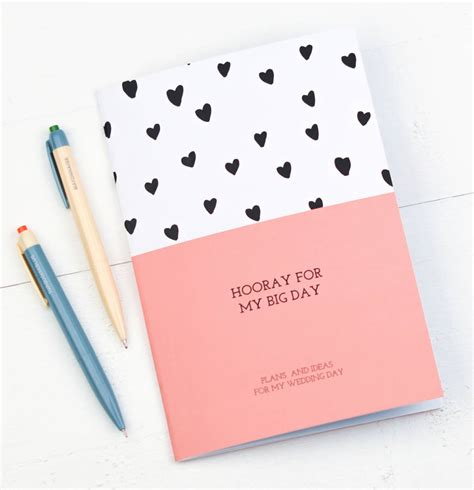 Wedding Planner Notebook by Hooray For My Big Day Wedding Planner Notebook By Bread