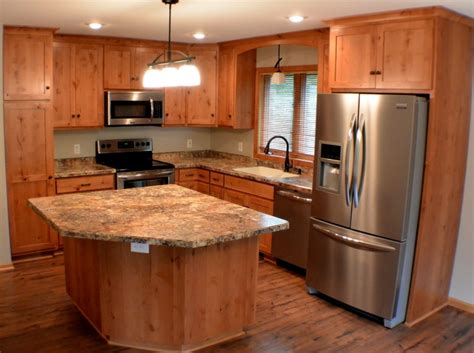 finished kitchen cabinets l shaped kitchen common but ideal kitchen designs homesfeed