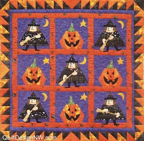 quilt mystic witch wall quilt quilts 2