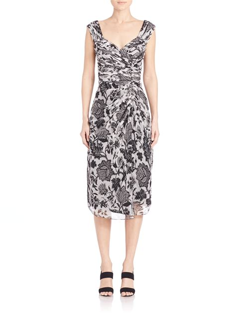 30687 White Creature Dress creatures of the wind dhara floral print dress in black lyst