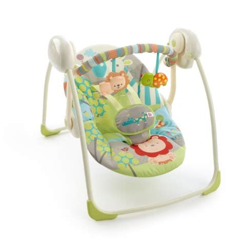 bright starts portable swing up up away bright starts playful pals portable swing babitha baby world