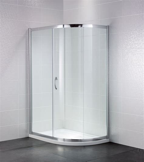 April Shower Doors April Identiti2 1000 X 800mm Single Door Shower Offset Quadrant Ap9444s