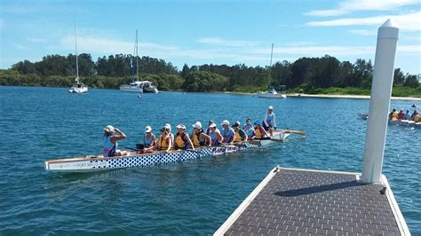 boat r port macquarie port macquarie dragon boats host trial for 70 people
