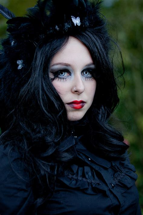 old goth bangs hairstyle beautiful gothic pictures прекрасные готические фото и