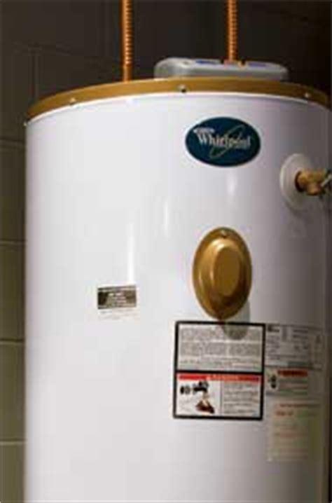 gas water heater repairs