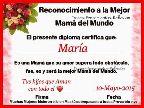 certificado a la mejor abuela del mundo para imprimir gratis picture pensamientos de la vida diaria diploma a maria la mejor