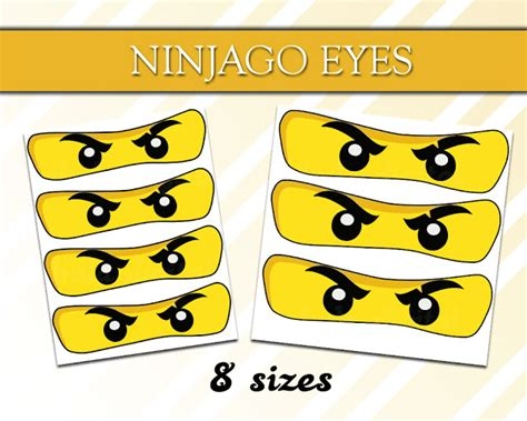 printable lego eyes high quality png printables ninjago eyes prints free