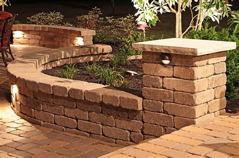 decorative garden wall retaining walls decorative and structural lancaster ohio