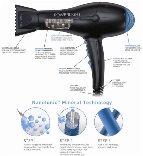 Bio Ionic Ion Hair Dryer buy bio ionic powerlight pro dryer free delivery